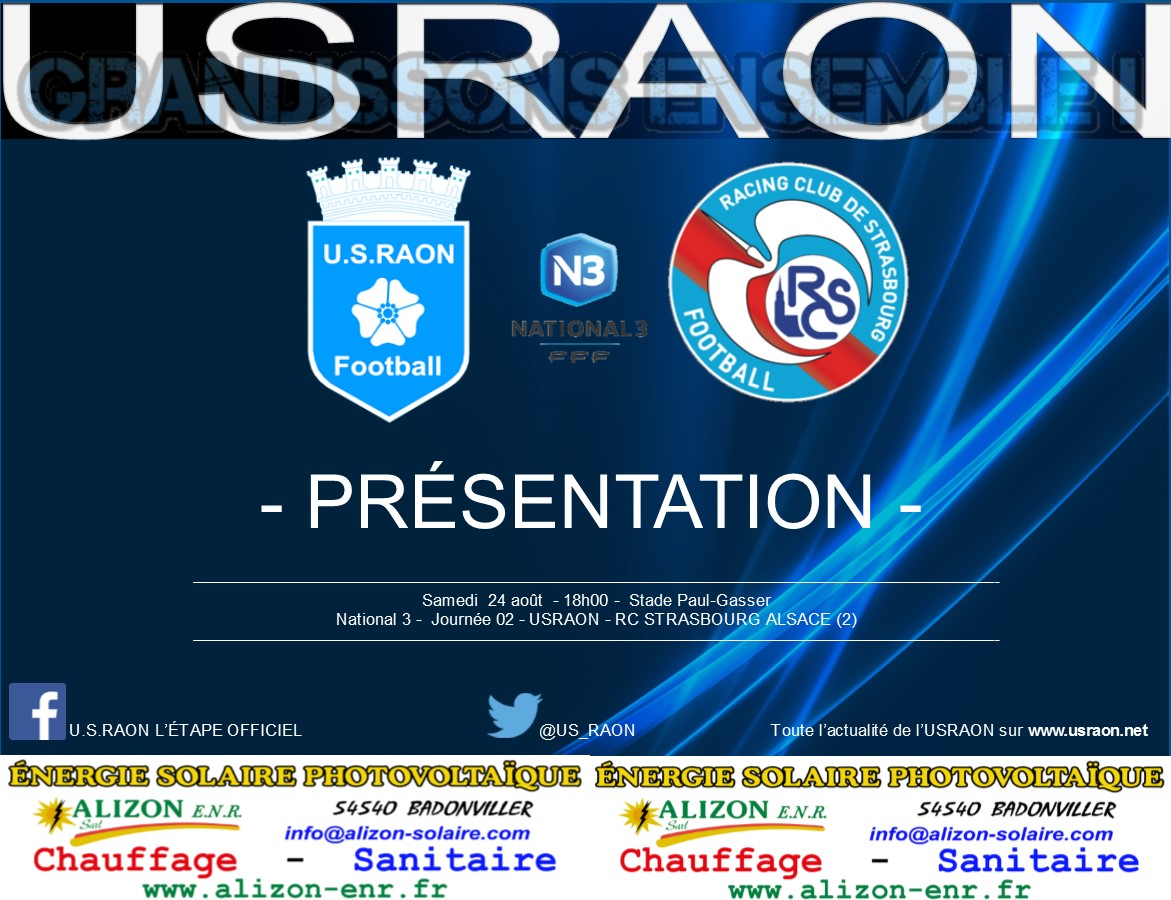 Calendrier Racing Club De Strasbourg.Actualite Racing Club Strasbourg 2 La Presentation